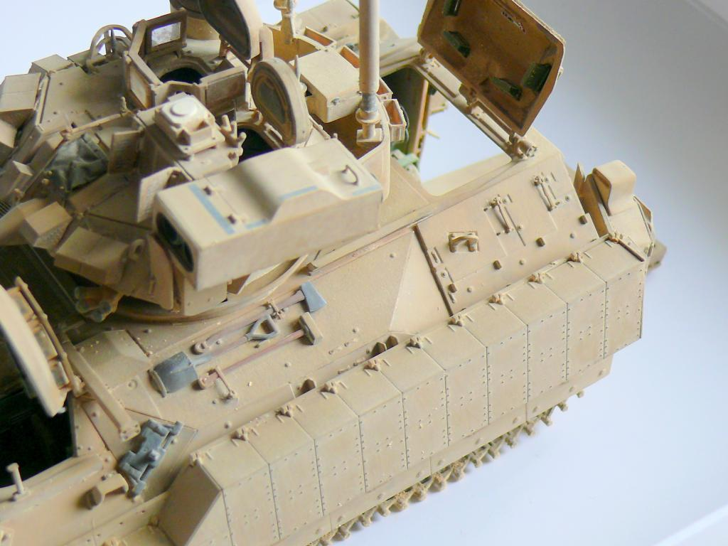 M3A3 BRADLEY w/BUSK III U.S. CAVALRY FIGHTING VEHICLE DE MENG Au 1/35 - Page 2 P1300555