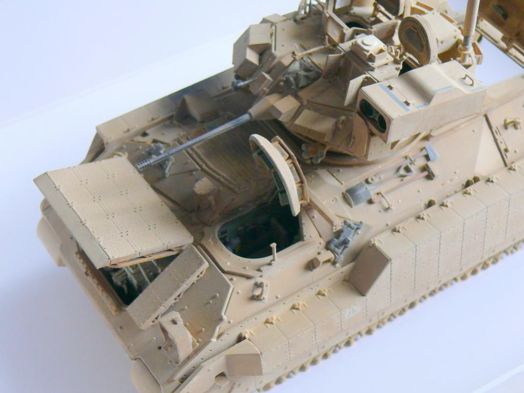 M3A3 BRADLEY w/BUSK III U.S. CAVALRY FIGHTING VEHICLE DE MENG Au 1/35 - Page 2 P1300556