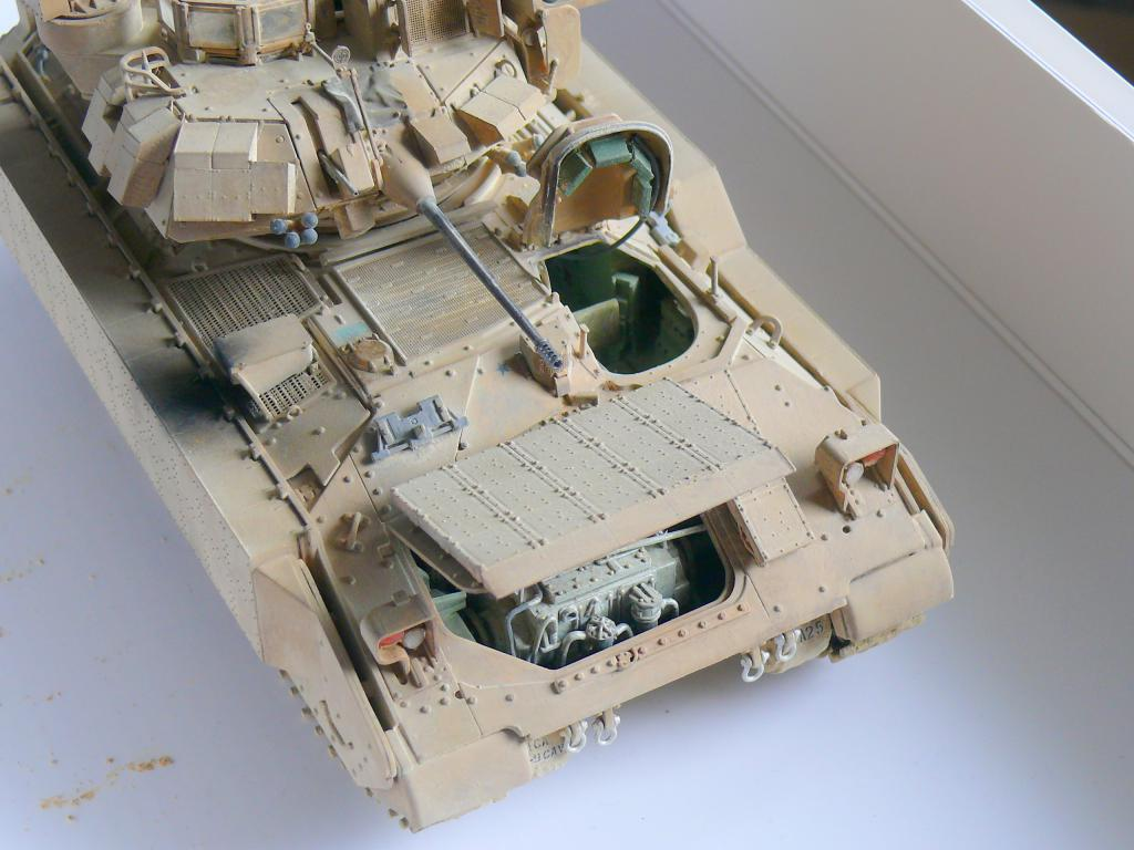 M3A3 BRADLEY w/BUSK III U.S. CAVALRY FIGHTING VEHICLE DE MENG Au 1/35 - Page 2 P1300557