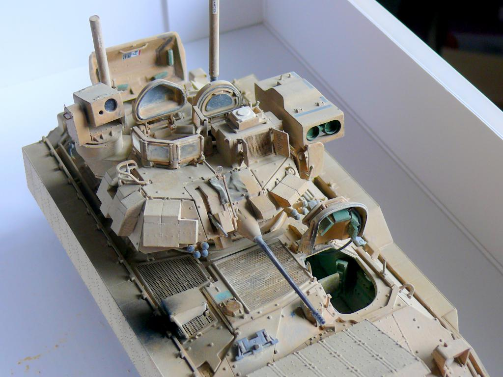 M3A3 BRADLEY w/BUSK III U.S. CAVALRY FIGHTING VEHICLE DE MENG Au 1/35 - Page 2 P1300558