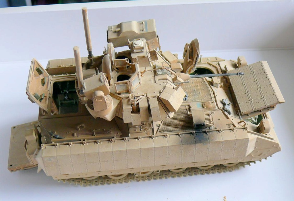 M3A3 BRADLEY w/BUSK III U.S. CAVALRY FIGHTING VEHICLE DE MENG Au 1/35 - Page 2 P1300560