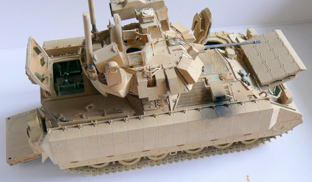 M3A3 BRADLEY w/BUSK III U.S. CAVALRY FIGHTING VEHICLE DE MENG Au 1/35 - Page 2 P1300561