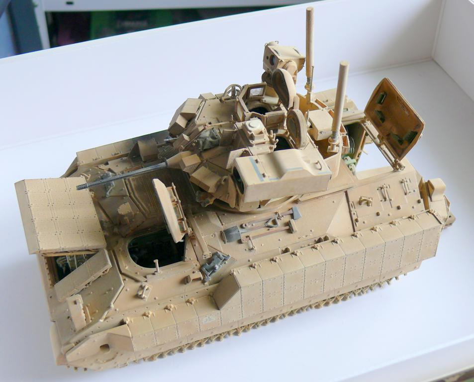 M3A3 BRADLEY w/BUSK III U.S. CAVALRY FIGHTING VEHICLE DE MENG Au 1/35 - Page 2 P1300562
