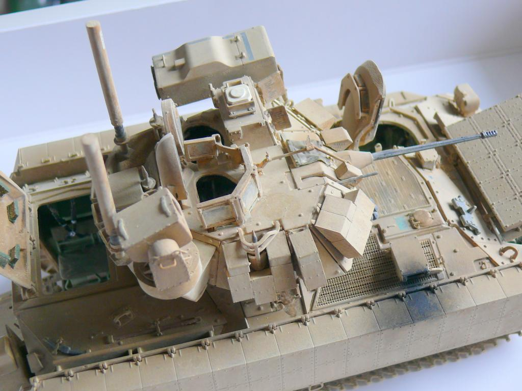 M3A3 BRADLEY w/BUSK III U.S. CAVALRY FIGHTING VEHICLE DE MENG Au 1/35 - Page 2 P1300572