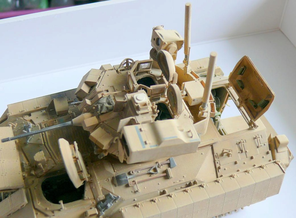 M3A3 BRADLEY w/BUSK III U.S. CAVALRY FIGHTING VEHICLE DE MENG Au 1/35 - Page 2 P1300573