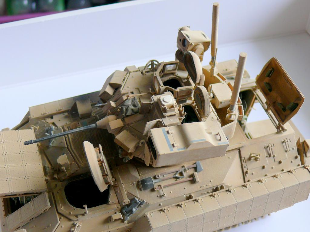 M3A3 BRADLEY w/BUSK III U.S. CAVALRY FIGHTING VEHICLE DE MENG Au 1/35 - Page 2 P1300574