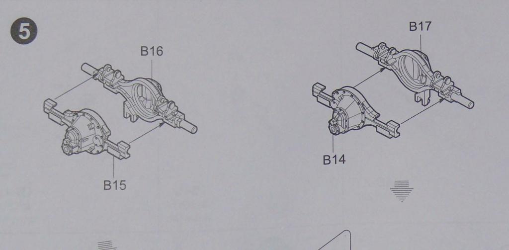 HEMTT M983A2 et Semi remorque M870A1 de TRUMPETER au 1/35 P1320812