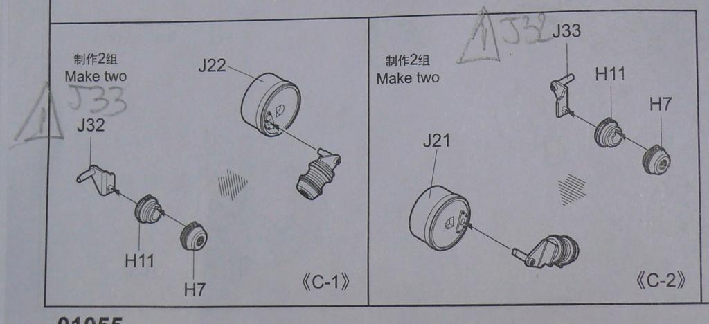 HEMTT M983A2 et Semi remorque M870A1 de TRUMPETER au 1/35 P1320815