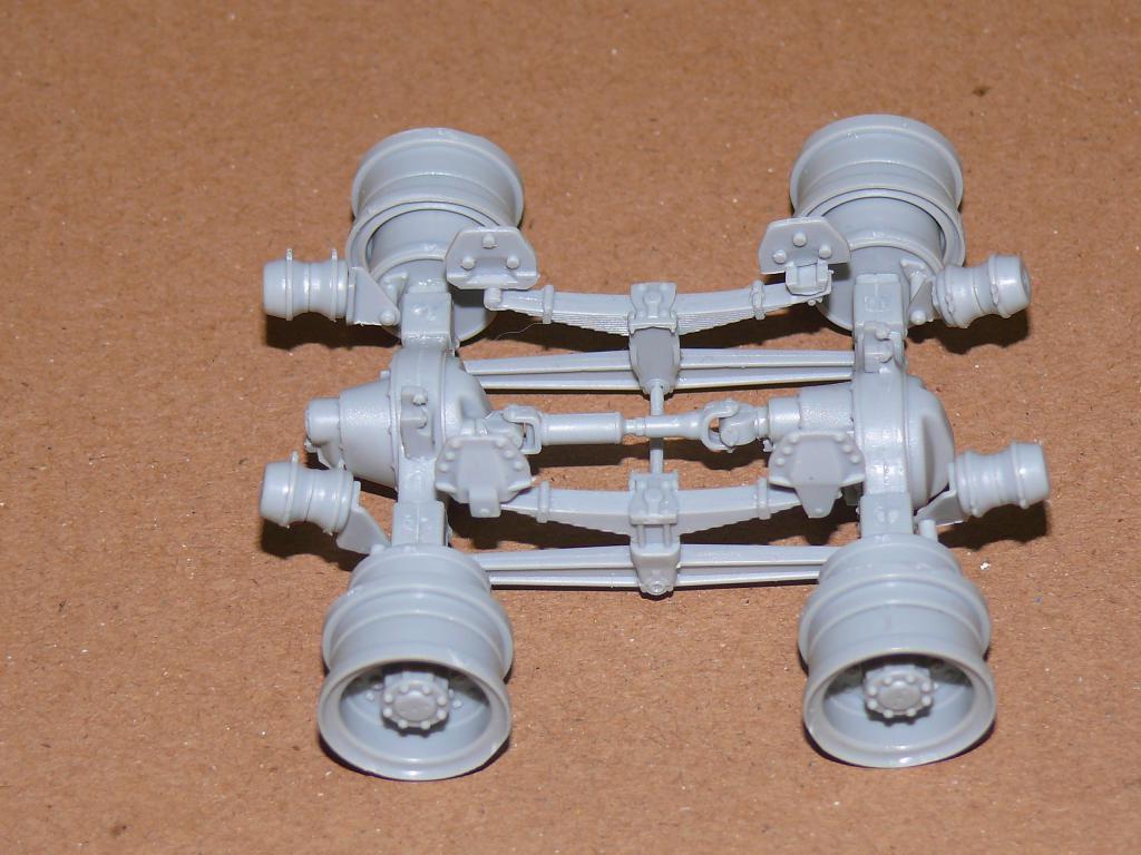 HEMTT M983A2 et Semi remorque M870A1 de TRUMPETER au 1/35 P1320817