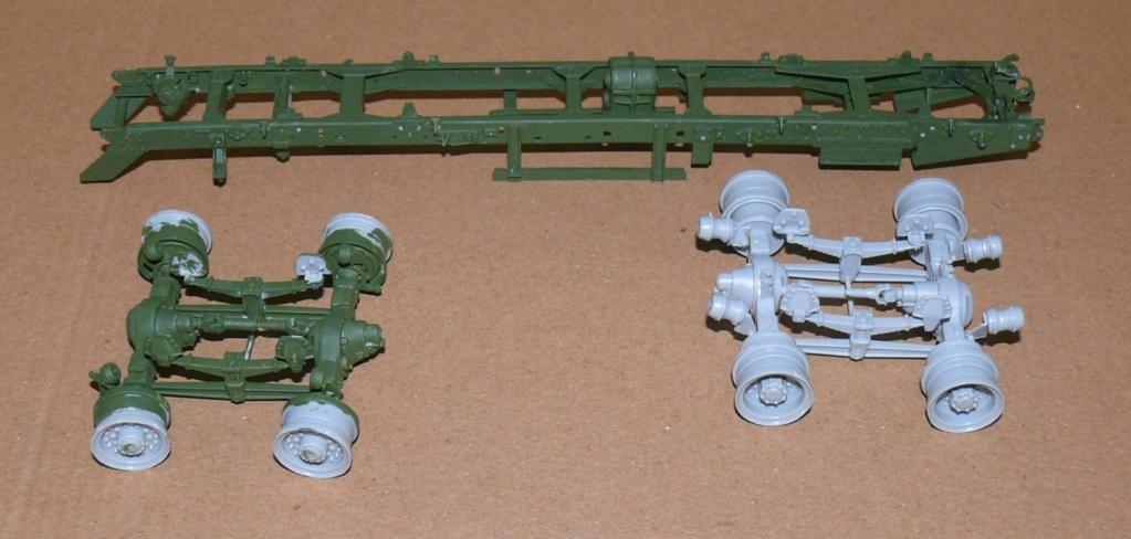 HEMTT M983A2 et Semi remorque M870A1 de TRUMPETER au 1/35 P1320818