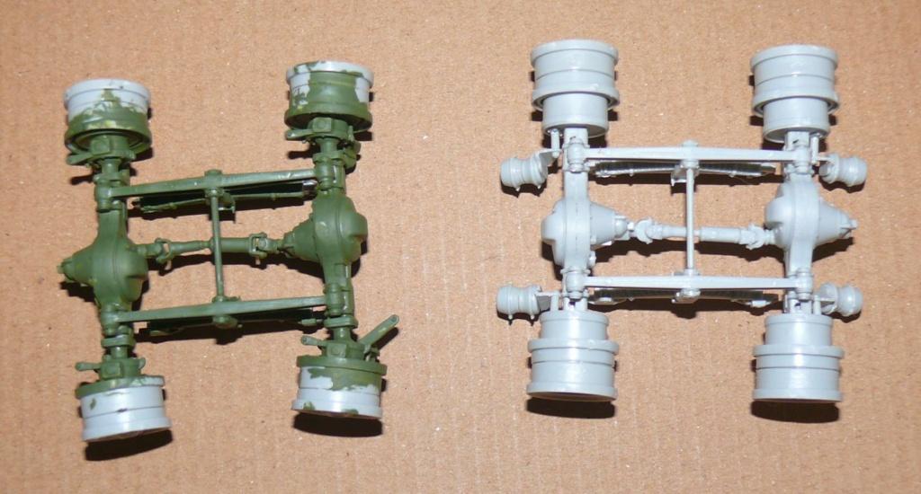 HEMTT M983A2 et Semi remorque M870A1 de TRUMPETER au 1/35 P1320819