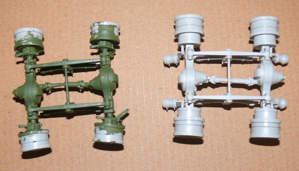HEMTT M983A2 et Semi remorque M870A1 de TRUMPETER au 1/35 P1320820