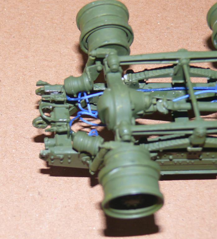 HEMTT M983A2 et Semi remorque M870A1 de TRUMPETER au 1/35 P1320825