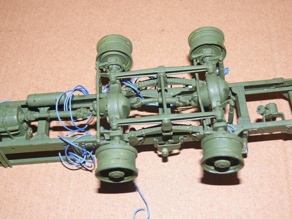 HEMTT M983A2 et Semi remorque M870A1 de TRUMPETER au 1/35 P1320830