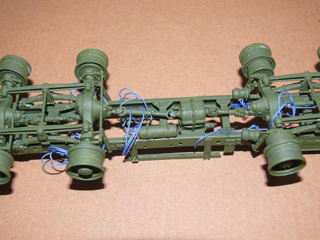 HEMTT M983A2 et Semi remorque M870A1 de TRUMPETER au 1/35 P1320833