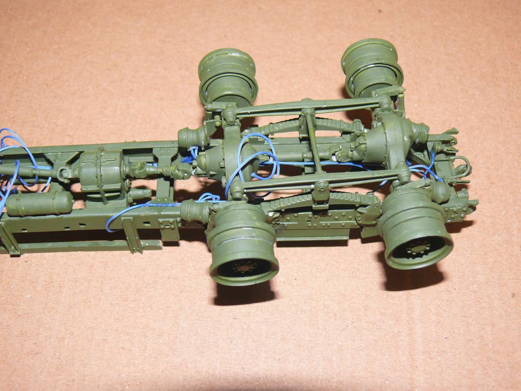 HEMTT M983A2 et Semi remorque M870A1 de TRUMPETER au 1/35 P1320834