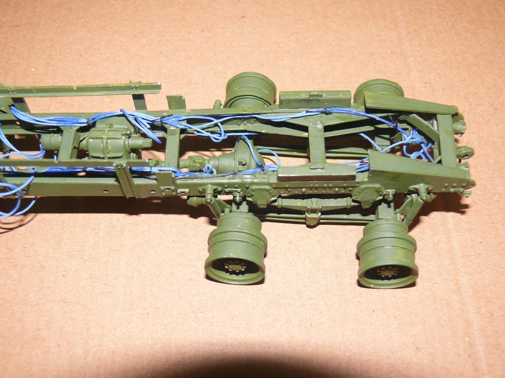 HEMTT M983A2 et Semi remorque M870A1 de TRUMPETER au 1/35 P1320837