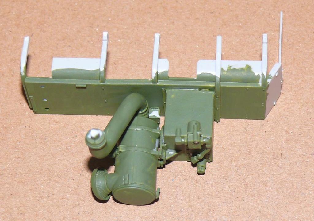 HEMTT M983A2 et Semi remorque M870A1 de TRUMPETER au 1/35 P1320919