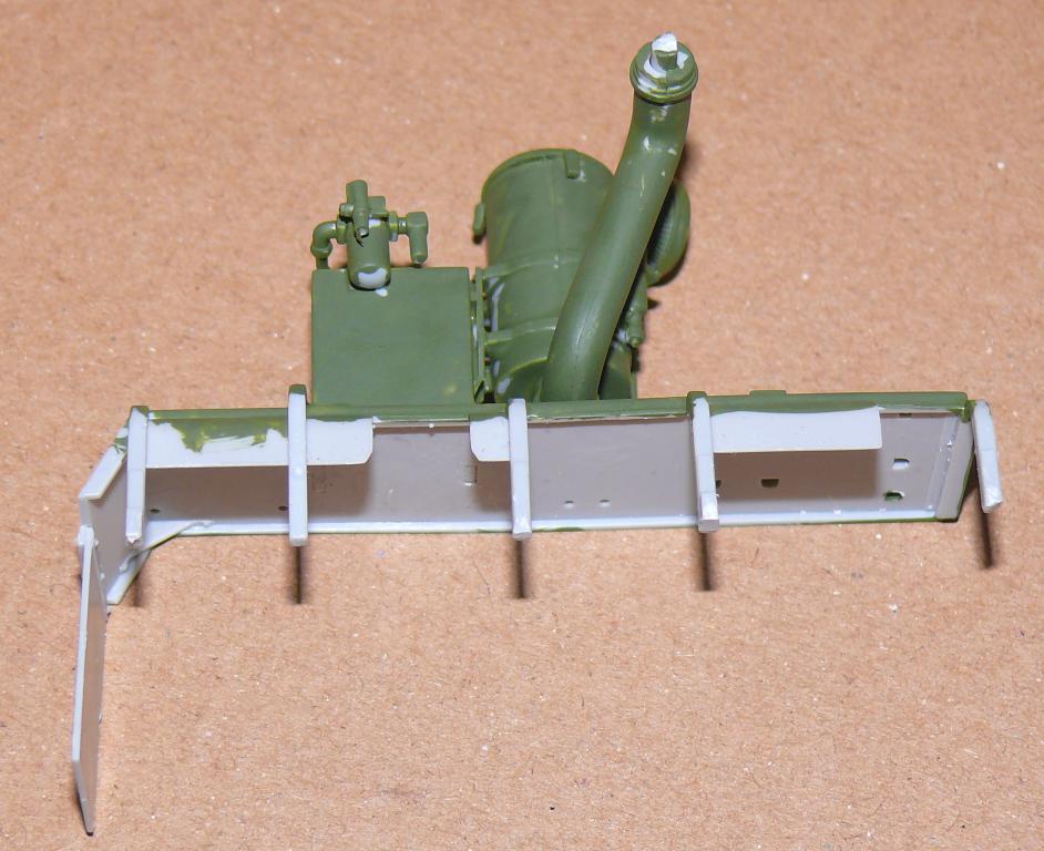 HEMTT M983A2 et Semi remorque M870A1 de TRUMPETER au 1/35 P1320922