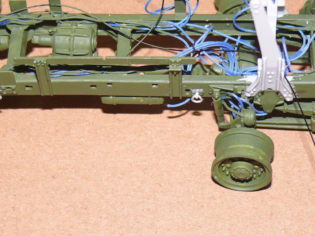 HEMTT M983A2 et Semi remorque M870A1 de TRUMPETER au 1/35 P1320924