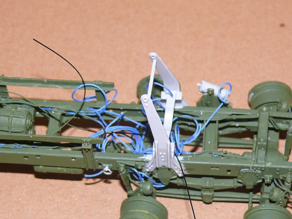 HEMTT M983A2 et Semi remorque M870A1 de TRUMPETER au 1/35 P1320926