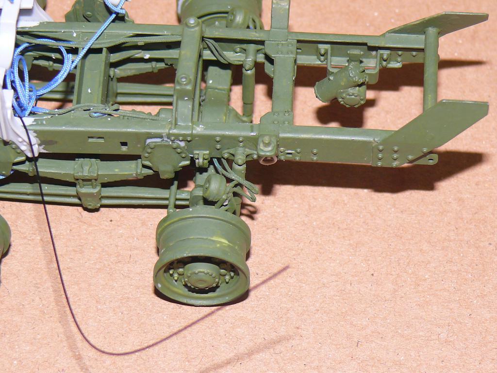 HEMTT M983A2 et Semi remorque M870A1 de TRUMPETER au 1/35 P1320928