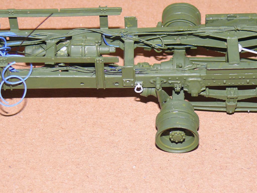 HEMTT M983A2 et Semi remorque M870A1 de TRUMPETER au 1/35 P1320929