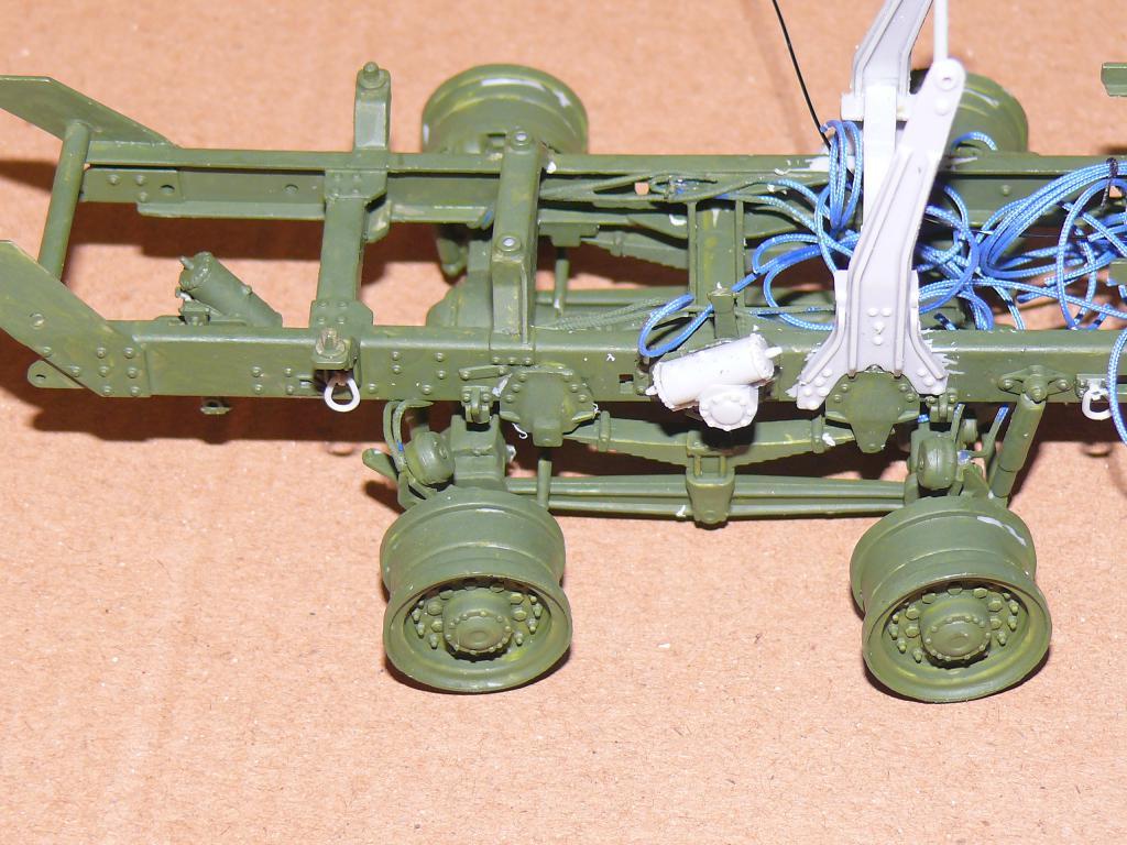 HEMTT M983A2 et Semi remorque M870A1 de TRUMPETER au 1/35 P1320932