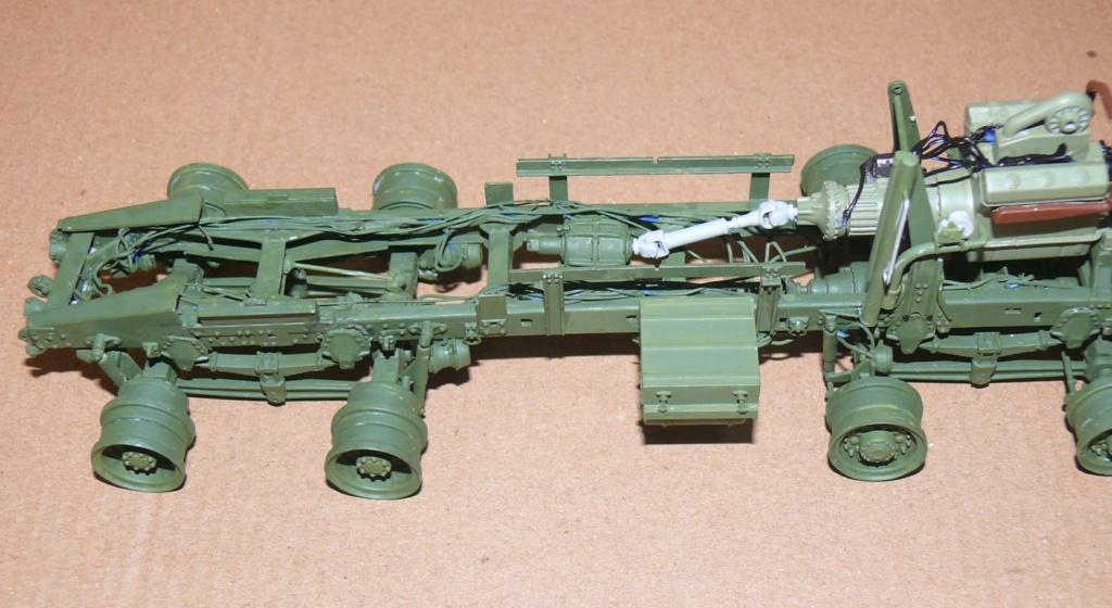 HEMTT M983A2 et Semi remorque M870A1 de TRUMPETER au 1/35 P1320948