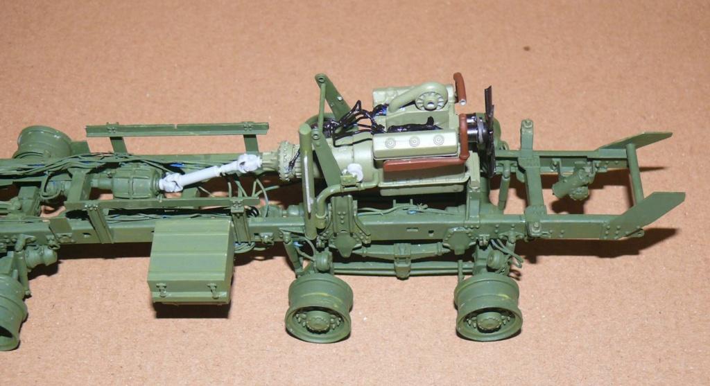 HEMTT M983A2 et Semi remorque M870A1 de TRUMPETER au 1/35 P1320949