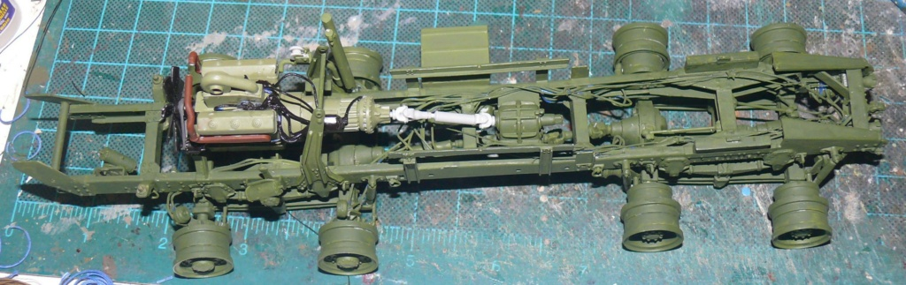 HEMTT M983A2 et Semi remorque M870A1 de TRUMPETER au 1/35 P1320956
