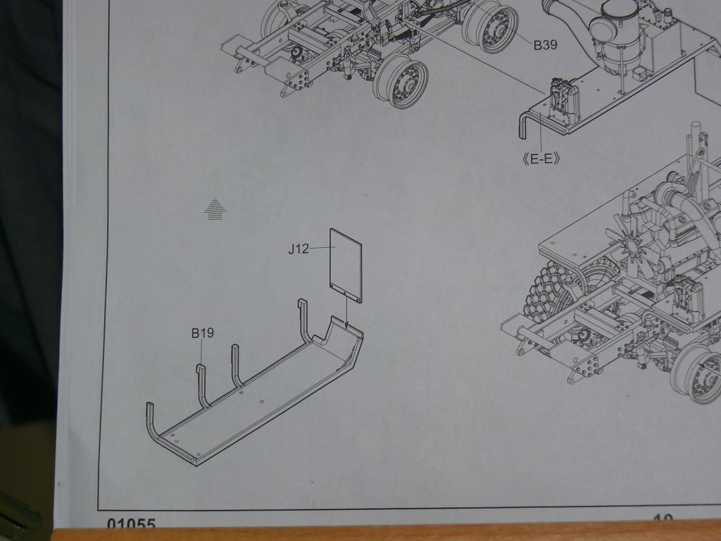 HEMTT M983A2 et Semi remorque M870A1 de TRUMPETER au 1/35 P1320957