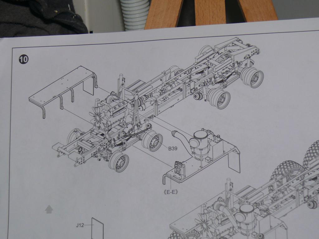 HEMTT M983A2 et Semi remorque M870A1 de TRUMPETER au 1/35 P1320959