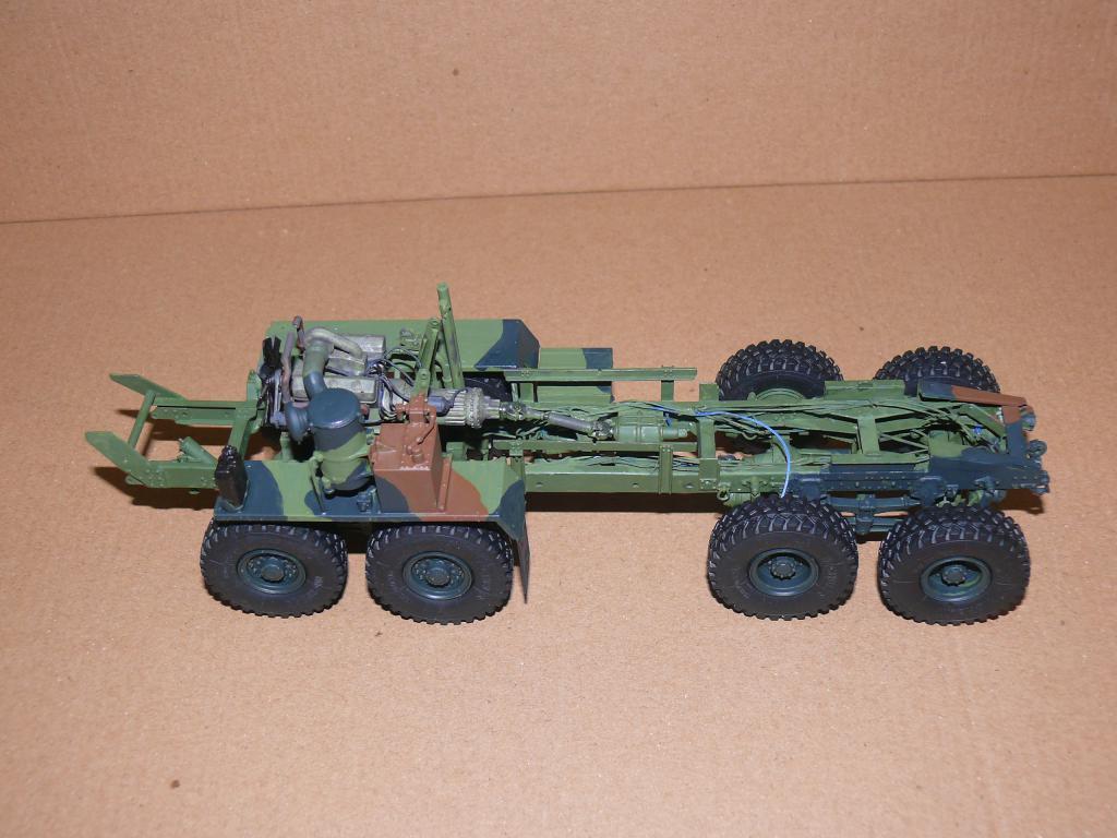 HEMTT M983A2 et Semi remorque M870A1 de TRUMPETER au 1/35 P1320961