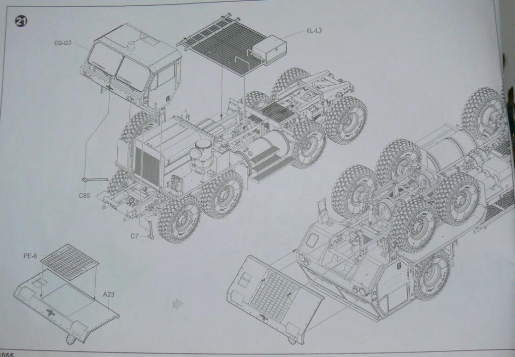HEMTT M983A2 et Semi remorque M870A1 de TRUMPETER au 1/35 - Page 2 P1330111