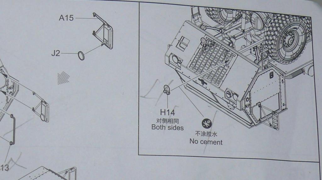 HEMTT M983A2 et Semi remorque M870A1 de TRUMPETER au 1/35 - Page 2 P1330114