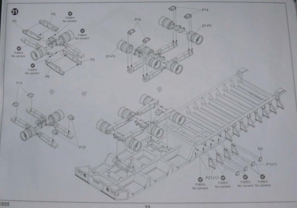 HEMTT M983A2 et Semi remorque M870A1 de TRUMPETER au 1/35 - Page 2 P1330219