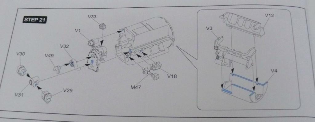 Sherman M4A3 (E8) HVSS de Rye Fields Model au 1/35 avec intérieur complet détaillé Sherm295