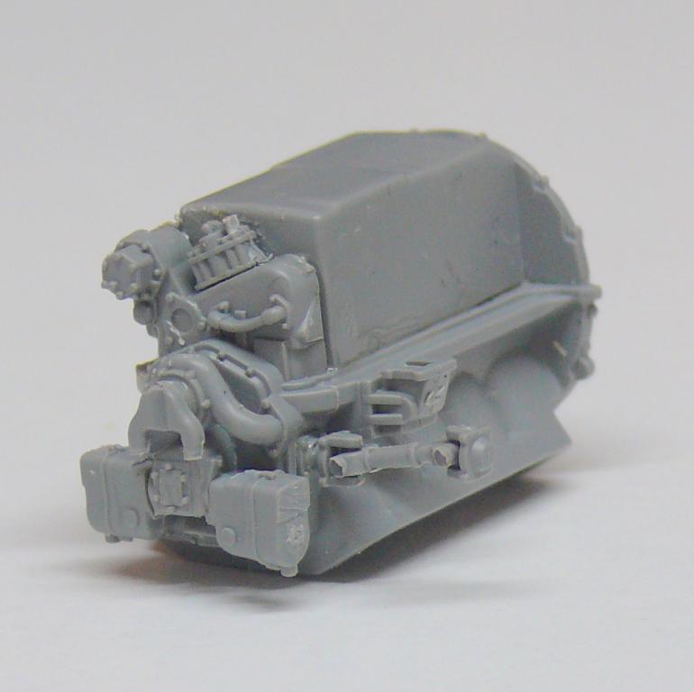 Sherman M4A3 (E8) HVSS de Rye Fields Model au 1/35 avec intérieur complet détaillé Sherm300
