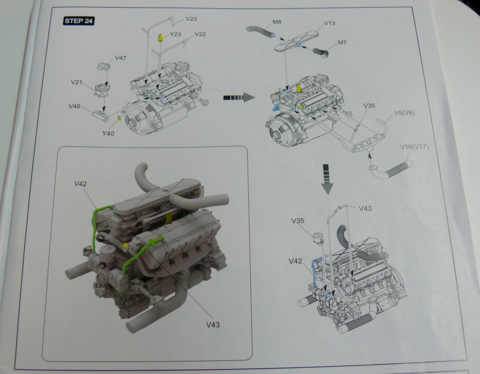 Sherman M4A3 (E8) HVSS de Rye Fields Model au 1/35 avec intérieur complet détaillé Sherm303