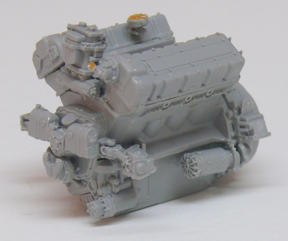 Sherman M4A3 (E8) HVSS de Rye Fields Model au 1/35 avec intérieur complet détaillé Sherm311