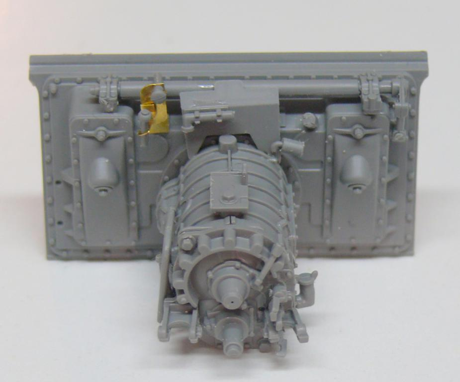 Sherman M4A3 (E8) HVSS de Rye Fields Model au 1/35 avec intérieur complet détaillé Sherm351