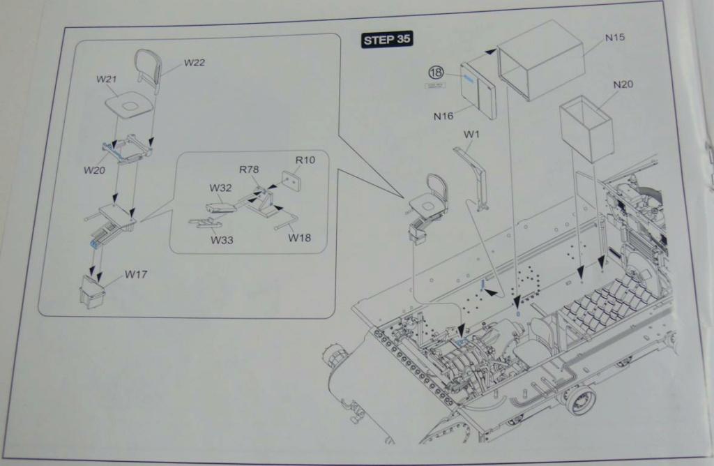Sherman M4A3 (E8) HVSS de Rye Fields Model au 1/35 avec intérieur complet détaillé - Page 2 Sherm387