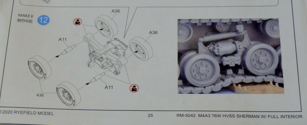 Sherman M4A3 (E8) HVSS de Rye Fields Model au 1/35 avec intérieur complet détaillé - Page 2 Sherm411