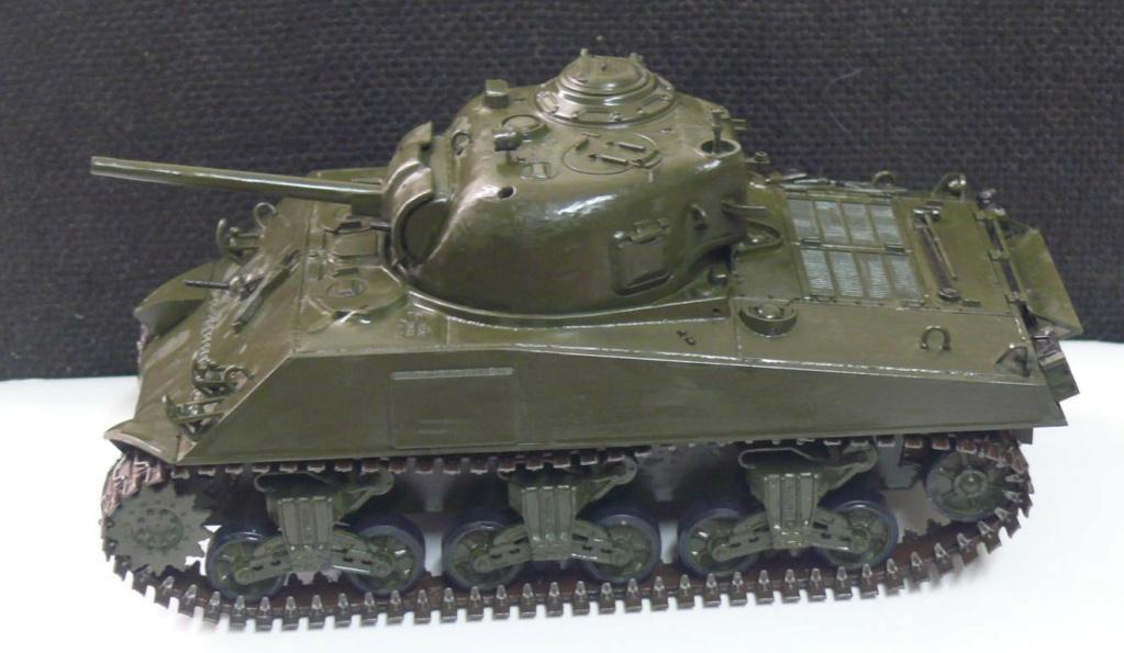 Sherman M4A3 d'e Tamiya au 1/35 + adaptation de Solution Box MIG Sherma90