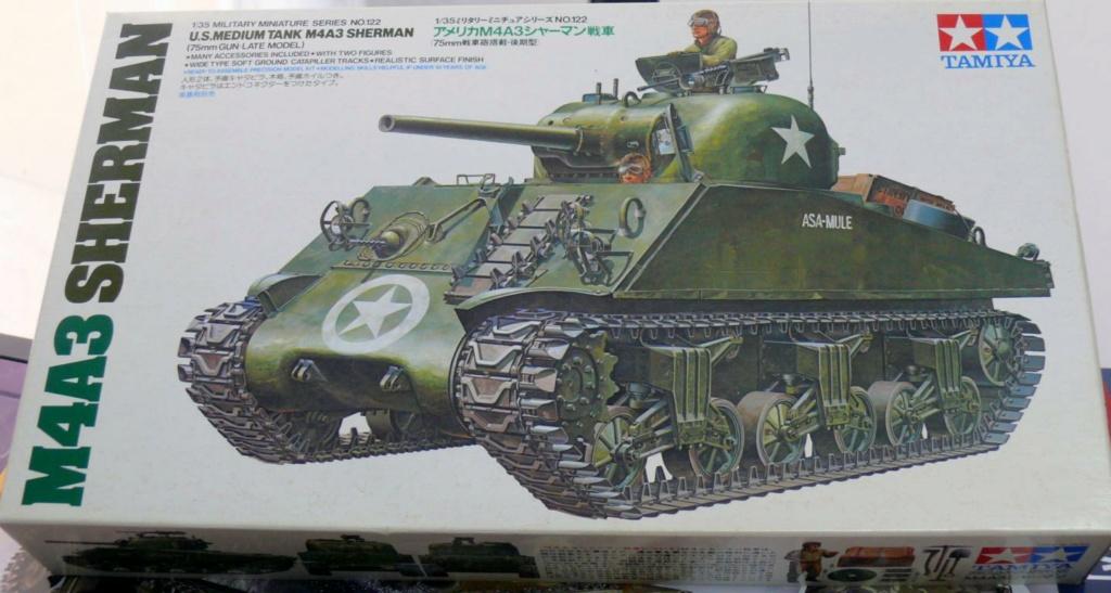 Sherman M4A3 d'e Tamiya au 1/35 + adaptation de Solution Box MIG Sherma91