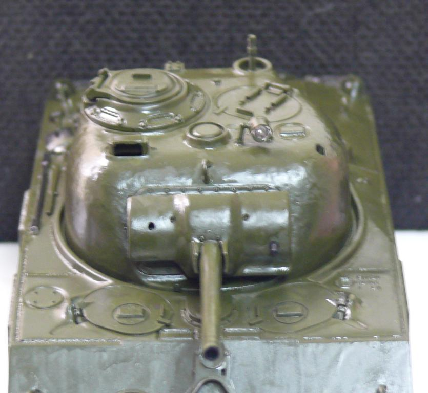 Sherman M4A3 d'e Tamiya au 1/35 + adaptation de Solution Box MIG Sherma93