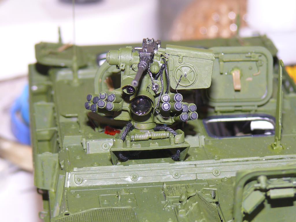 Stryker M1126 de AFV Club et détaillage intérieur Black Dog au 1/35 Stryk107