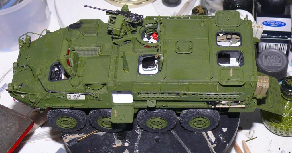 Stryker M1126 de AFV Club et détaillage intérieur Black Dog au 1/35 - Page 2 Stryk155
