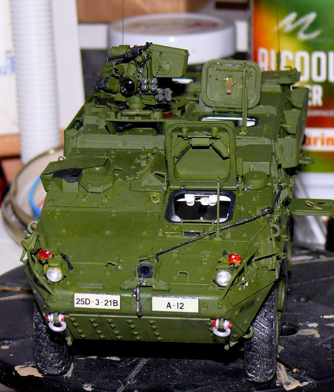 Stryker M1126 de AFV Club et détaillage intérieur Black Dog au 1/35 - Page 2 Stryk159